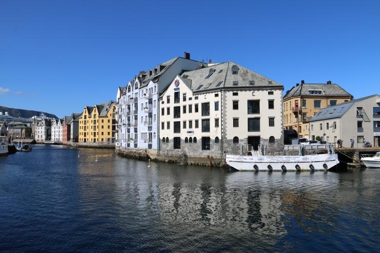 Hausberg Aksla in Ålesund